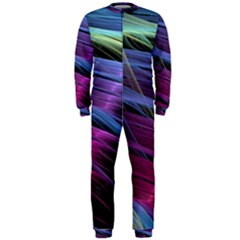 Abstract Satin OnePiece Jumpsuit (Men)