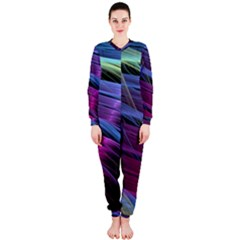 Abstract Satin OnePiece Jumpsuit (Ladies)