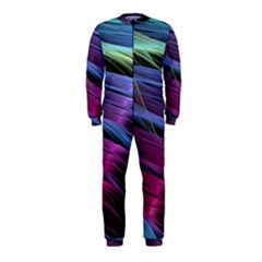 Abstract Satin OnePiece Jumpsuit (Kids)
