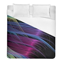 Abstract Satin Duvet Cover (Full/ Double Size)