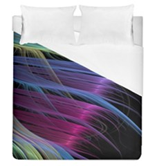 Abstract Satin Duvet Cover (Queen Size)