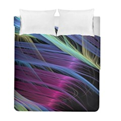 Abstract Satin Duvet Cover Double Side (Full/ Double Size)