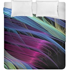 Abstract Satin Duvet Cover Double Side (King Size)