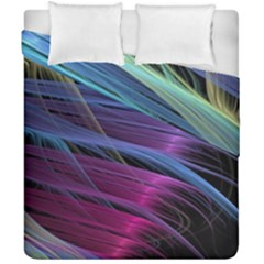 Abstract Satin Duvet Cover Double Side (California King Size)