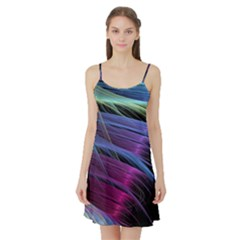Abstract Satin Satin Night Slip
