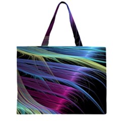 Abstract Satin Large Tote Bag