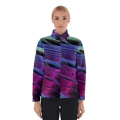 Abstract Satin Winterwear