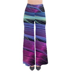 Abstract Satin Pants