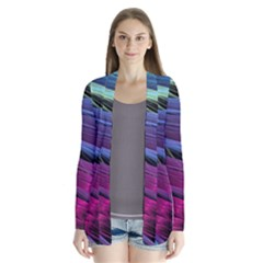 Abstract Satin Cardigans