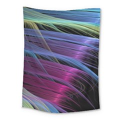 Abstract Satin Medium Tapestry