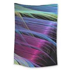 Abstract Satin Large Tapestry