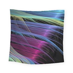 Abstract Satin Square Tapestry (Small)