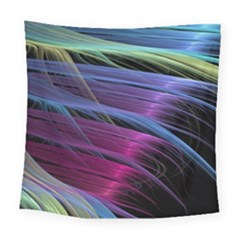 Abstract Satin Square Tapestry (large)
