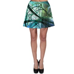 Abstract Skater Skirt