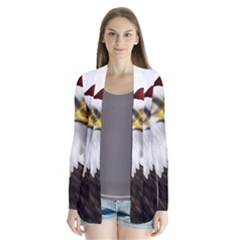 American Eagle Flag Sticker Symbol Of The Americans Cardigans