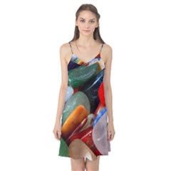 Beautiful Stones In Different Colors Colorful Camis Nightgown