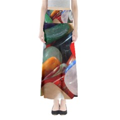 Beautiful Stones In Different Colors Colorful Maxi Skirts