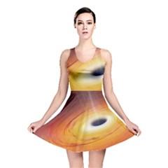 Black Hole Reversible Skater Dress