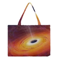 Black Hole Medium Tote Bag