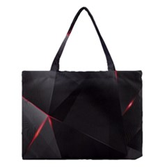 Black Light Dark Figures Medium Tote Bag