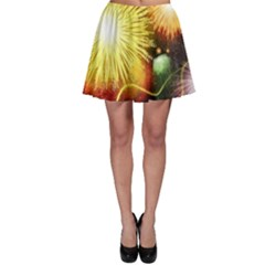 Celebration Colorful Fireworks Beautiful Skater Skirt