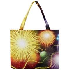 Celebration Colorful Fireworks Beautiful Mini Tote Bag