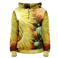 Celebration Colorful Fireworks Beautiful Women s Pullover Hoodie
