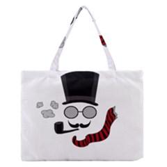 Invisible man Medium Zipper Tote Bag