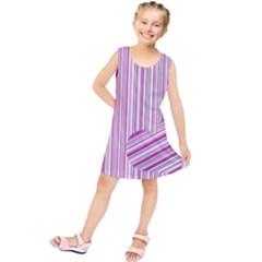 Pink love pattern Kids  Tunic Dress