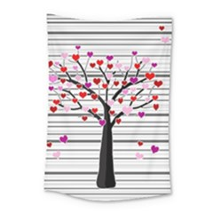 Love Tree Small Tapestry