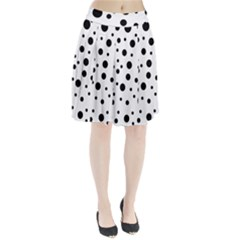 Dots and hart Pleated Skirt