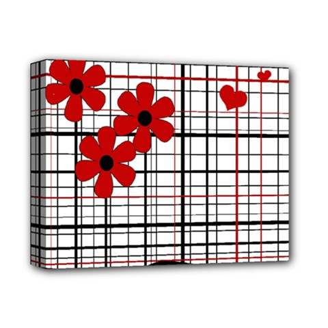 Cute Floral Desing Deluxe Canvas 14  X 11