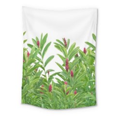 Tropical Floral Print Medium Tapestry