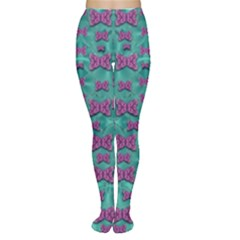 Peace And Freedom Over The Sea Of Softness Women s Tights