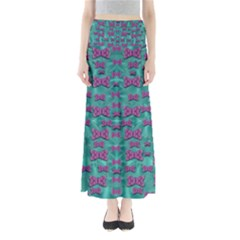 Peace And Freedom Over The Sea Of Softness Maxi Skirts