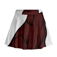 Boykin Spaniel Cartoon Mini Flare Skirt