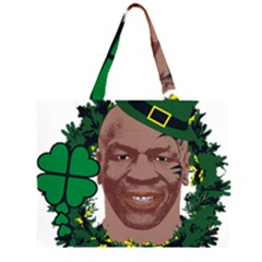 Kith Me I m Irith, Mike Tyson St Patrick s Day Design Large Tote Bag