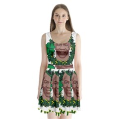 Kith Me I m Irith, Mike Tyson St Patrick s Day Design Split Back Mini Dress