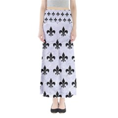 RYL1 BK-WH MARBLE Maxi Skirts