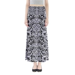 DMS2 BK-WH MARBLE Maxi Skirts
