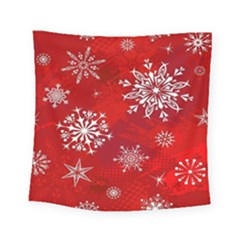 Christmas Pattern Square Tapestry (small)
