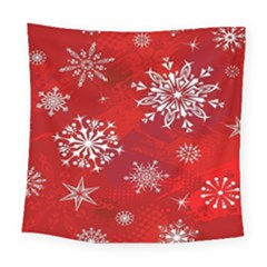 Christmas Pattern Square Tapestry (large)