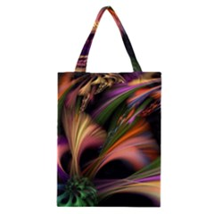 Color Burst Abstract Classic Tote Bag