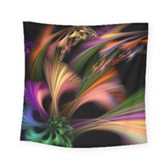 Color Burst Abstract Square Tapestry (Small)