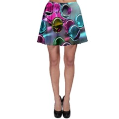 Colorful Balls Of Glass 3d Skater Skirt