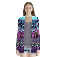 Colorful Balls Of Glass 3d Cardigans