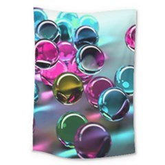 Colorful Balls Of Glass 3d Large Tapestry