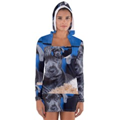 Cane Corso Pup Women s Long Sleeve Hooded T-shirt