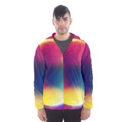 Colorful Glowing Hooded Wind Breaker (men)