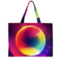 Colorful Glowing Large Tote Bag
